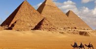 Visita guiada por las pirámides de Egipto.