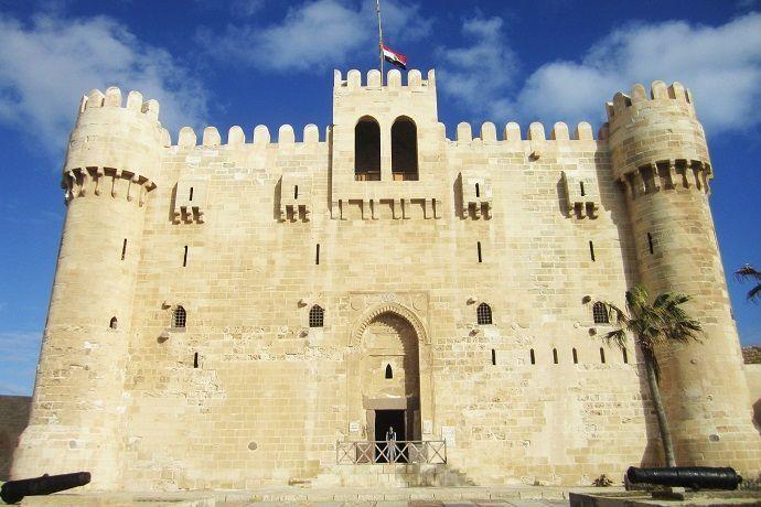 Excursión a Alejandría desde El Cairo. Ciudadela de Qaitbay