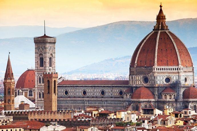 Circuito desde Roma a Milán.