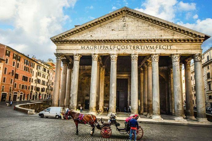 Visita guiada por el Panteón de Roma