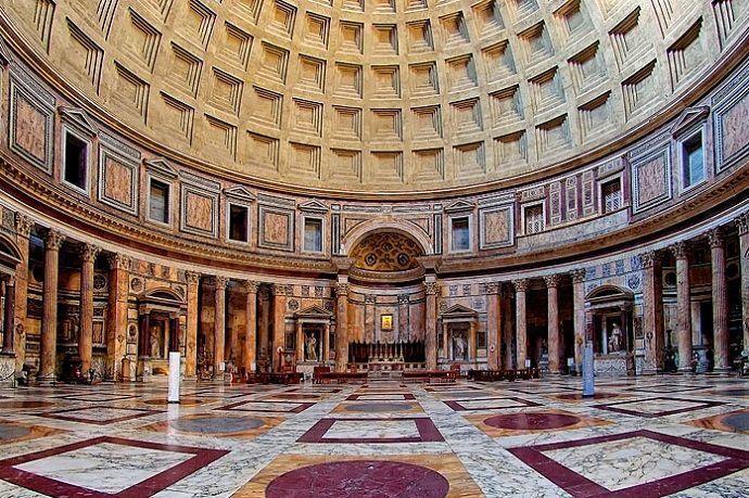 Panteón de Roma. Visitas guiadas.