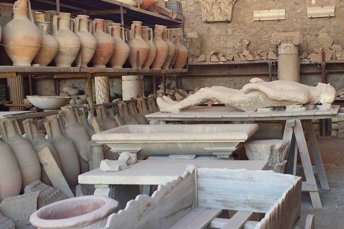 Excursión a Pompeya desde Roma.