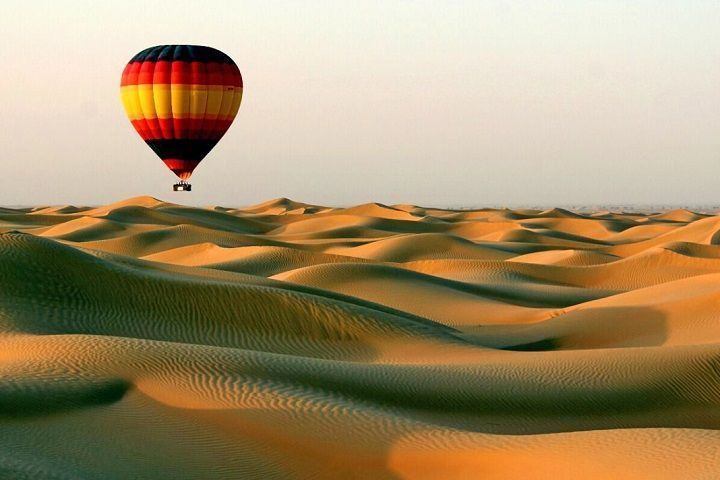 Paseo en globo Dubái