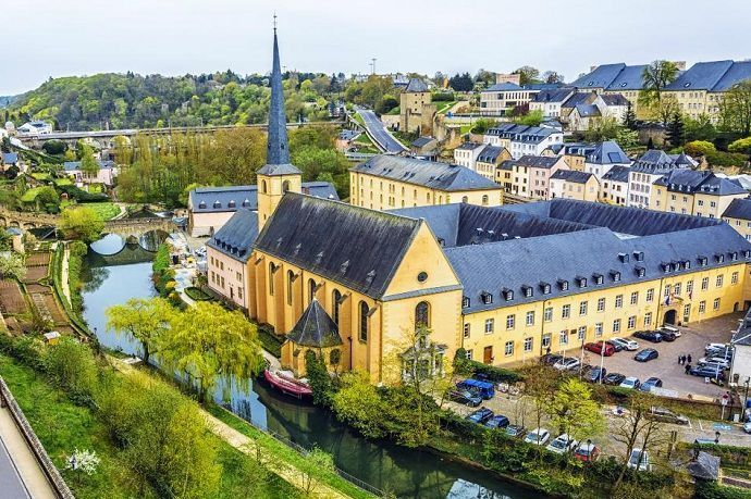 Luxemburgo desde Bruselas