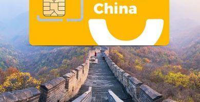 Tarjeta SIM internet china