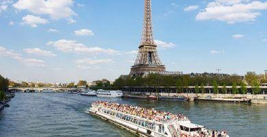 Paseo en barco París
