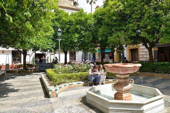 Don Juan Tenorio. Plaza de Doña Elvira Sevilla