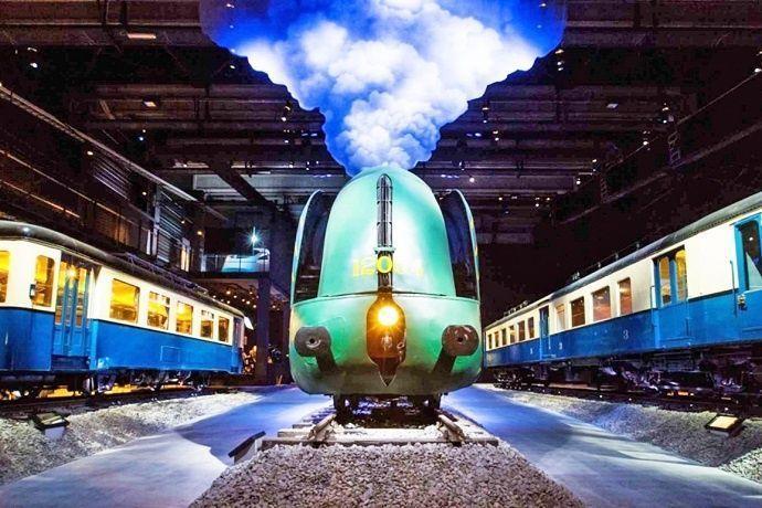 Entradas Museo de ferrocarril Bruselas