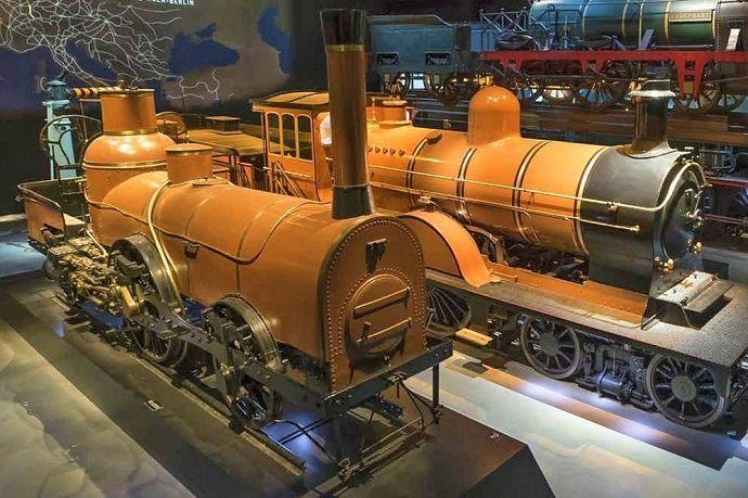 Museo del tren de Bruselas.