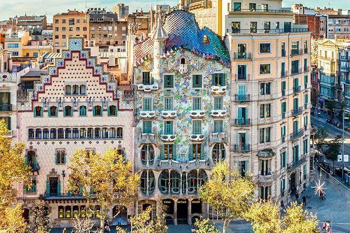 Entrada civitatis Casa Batlló
