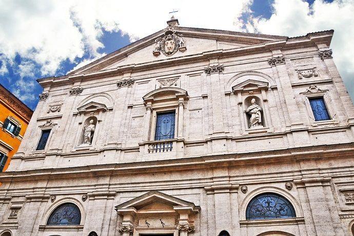 Free tour Iglesia San Luís de los Franceses Roma
