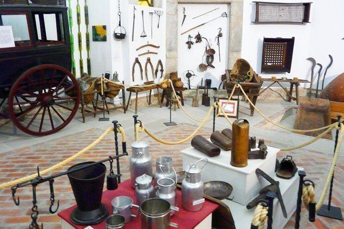 Qué ver en Trujillo. Museo del queso y el vino.