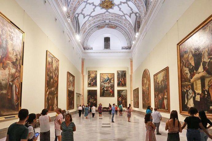 Visita guiada por el museo de Bellas Artes de Sevilla