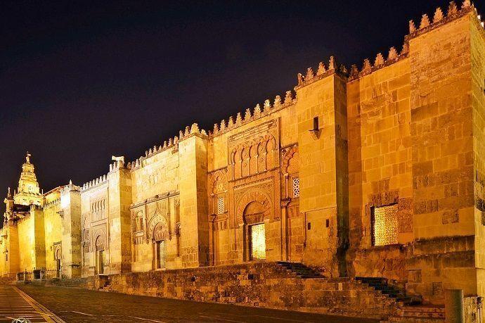 Tour por la Mezquita de Córdoba por la noche