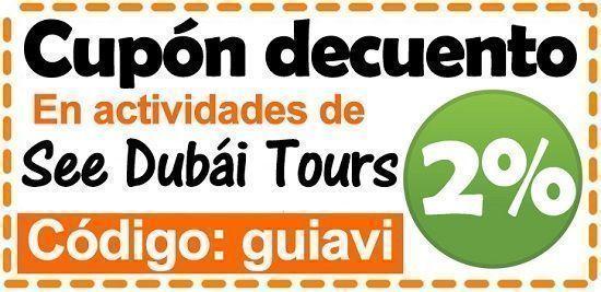 Cupón descuento See Dubái Tours