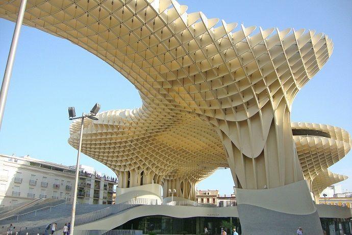 Visitar las setas de Sevilla