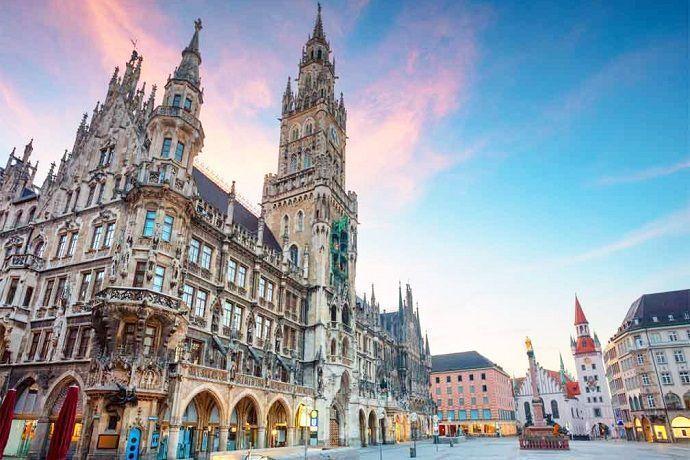 Tour privado en minibús por Múnich