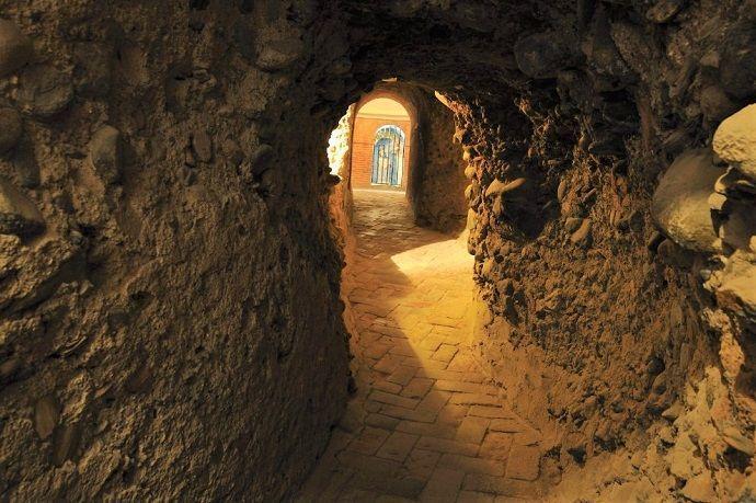 Visitar Santas Cuevas de la Abadía del Sacromonte.