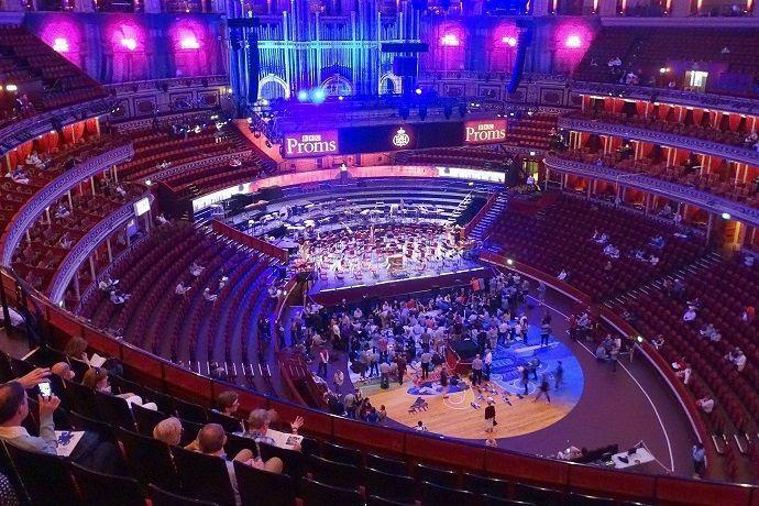 Visita guiada Royal Albert Hall