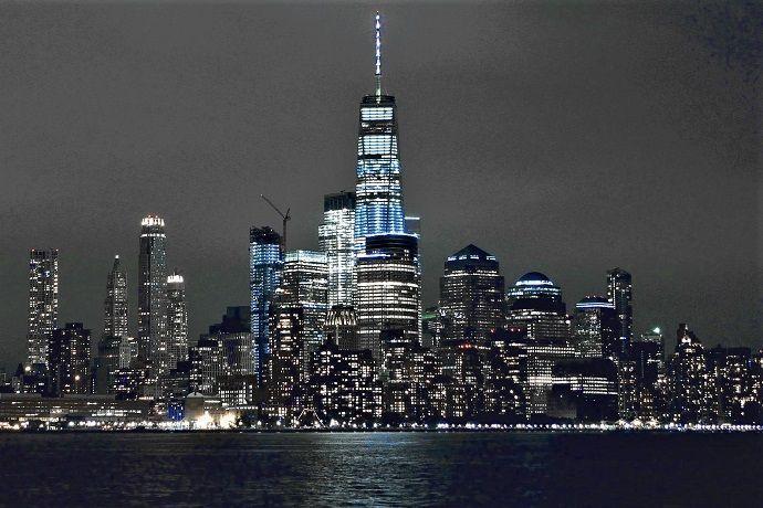 Paseo barco nocturno Nueva York