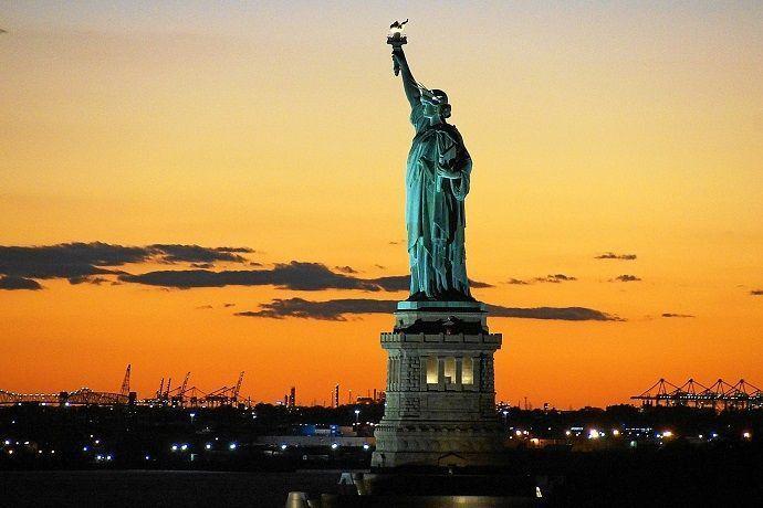 Paseo barco tarde Nueva York