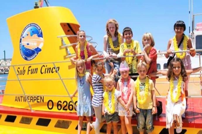 Excursión submarino Tenerife