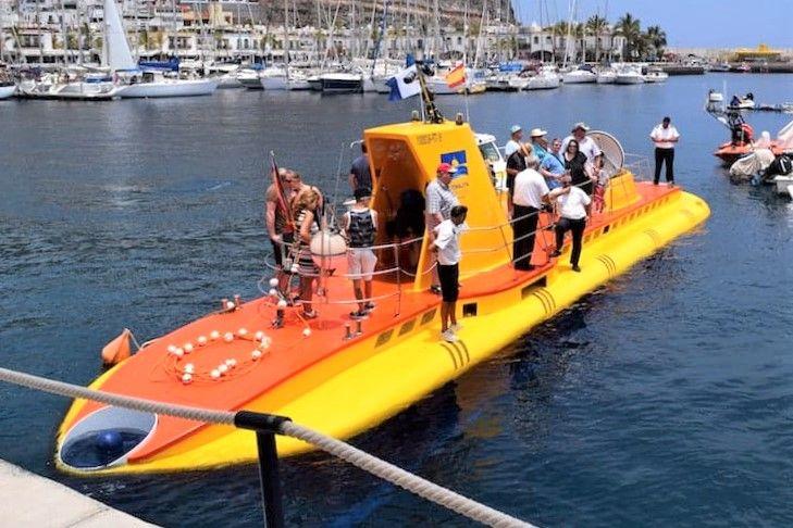 Tour submarino Tenerife
