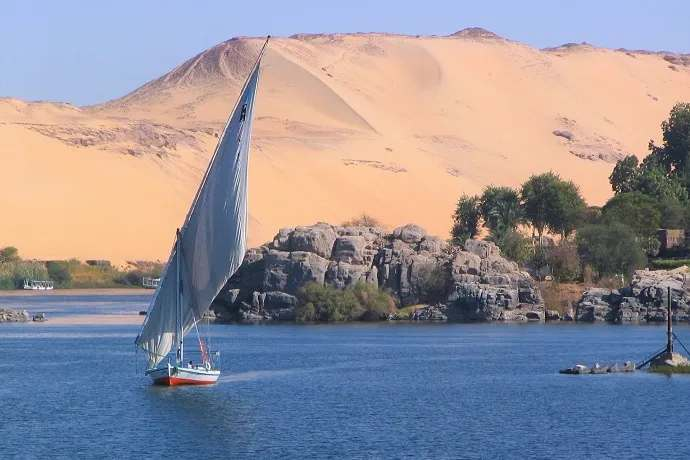 Paseo barco Nilo