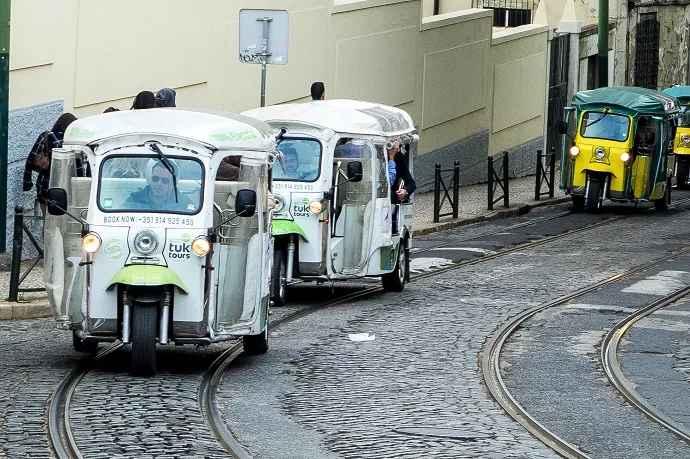 Visita guiada tuk tuk Lisboa